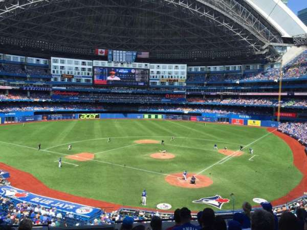 Rogers Centre, section: 225, row: 7, seat: 1