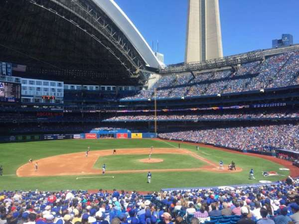 Rogers Centre, section: 126L, row: 40, seat: 103