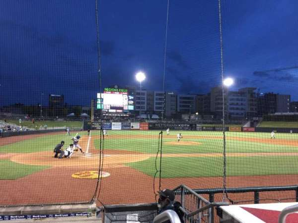 Regions Field, section: 110, row: G, seat: 11