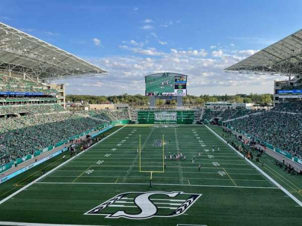 Mosaic Stadium, section: 226, row: 13, seat: 1