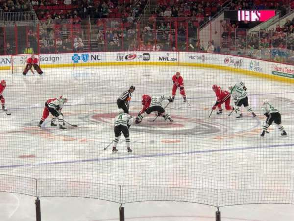 PNC Arena, section: 128, row: Q, seat: 10