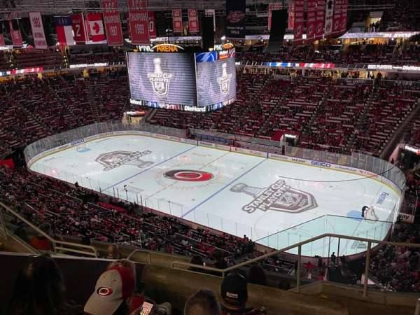 PNC Arena, section: 321, row: G, seat: 1