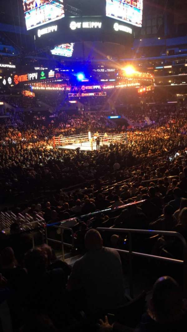 Staples Center, section: 114, row: 118, seat: 1