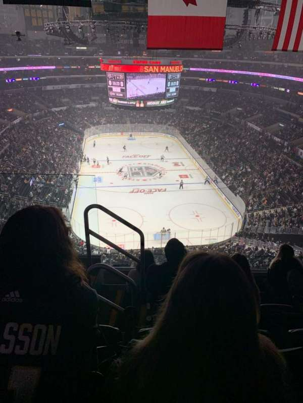 Staples Center, section: 327, row: 5, seat: 11