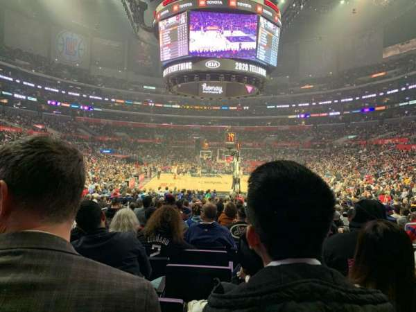 Staples Center, section: 116, row: 10, seat: 6
