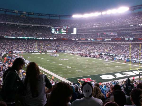 MetLife Stadium, section: 106, row: 41, seat: 5
