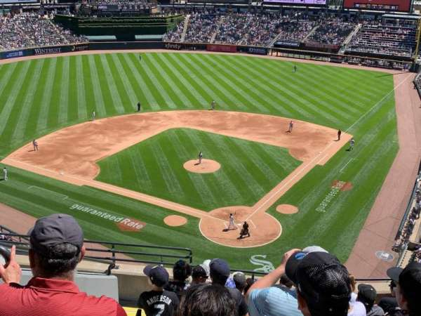 Guaranteed Rate Field, section: 534, row: 10