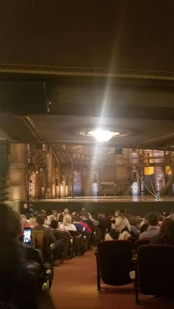 CIBC Theatre, section: Orchestra L, row: ZZ, seat: 2