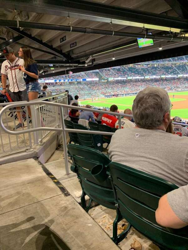 SunTrust Park, section: 112, row: 20, seat: 25