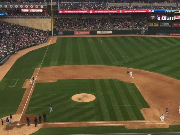 Target Field, section: 210, row: 3, seat: 17