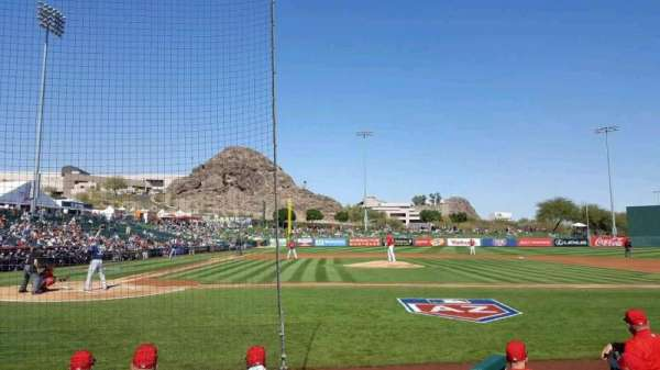 Tempe Diablo Stadium, section: 15, row: E, seat: 9