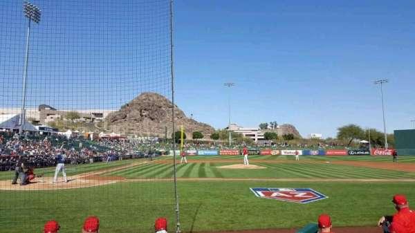 Tempe Diablo Stadium, section: 15, row: E, seat: 9