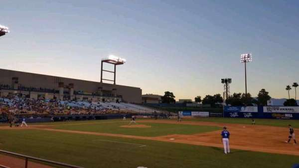 Cashman Field, section: 19, row: D, seat: 4