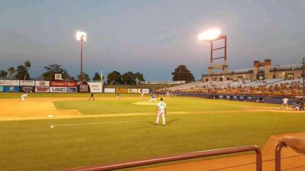 Cashman Field, section: 6, row: B, seat: 1