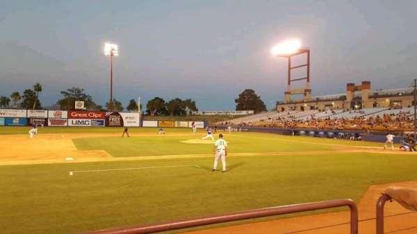 Cashman Field, section: 6, row: B, seat: 1