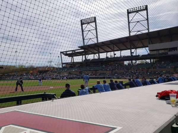 Salt River Fields, section: 119, row: 5, seat: 10