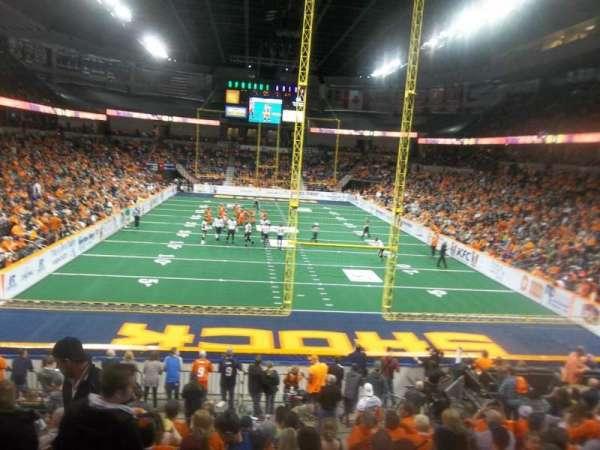 Spokane Arena, section: 122, row: S, seat: 16