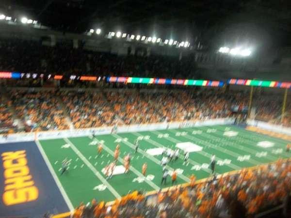 Spokane Arena, section: 201, row: M, seat: 17