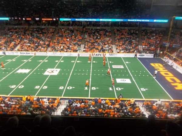 Spokane Arena, section: 205, row: K, seat: 19