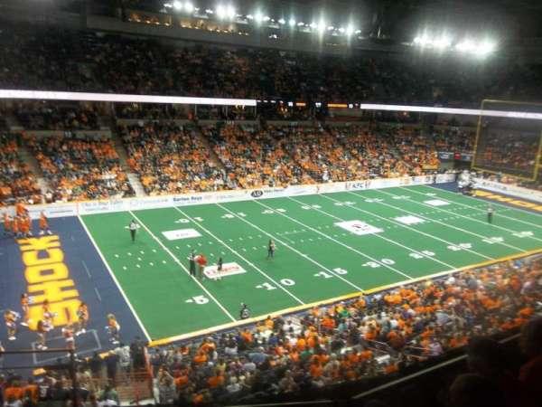 Spokane Arena, section: 214, row: M, seat: 26