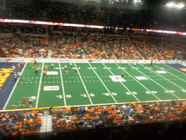 Spokane Arena, section: 215, row: M, seat: 18