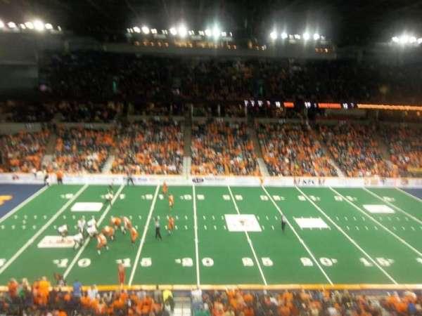 Spokane Arena, section: 216, row: M, seat: 17