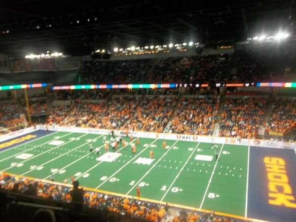 Spokane Arena, section: 218, row: L, seat: 2