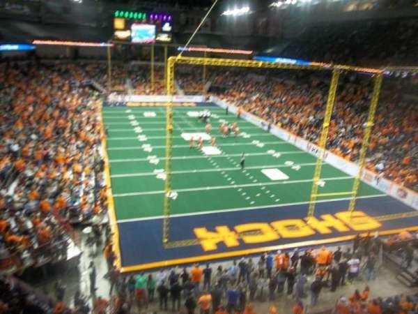 Spokane Arena, section: 221, row: M, seat: 19