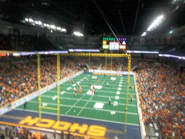 Spokane Arena, section: 223, row: M, seat: 15