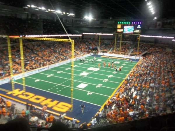 Spokane Arena, section: 224, row: M, seat: 4