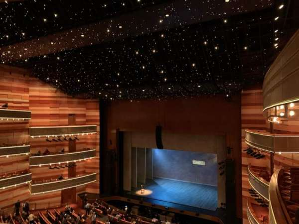 Eccles Theater, section: Tier 2 Right, row: D, seat: 129