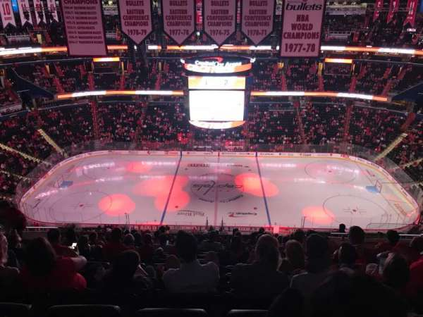 Capital One Arena, section: 400, row: Q, seat: 15-16