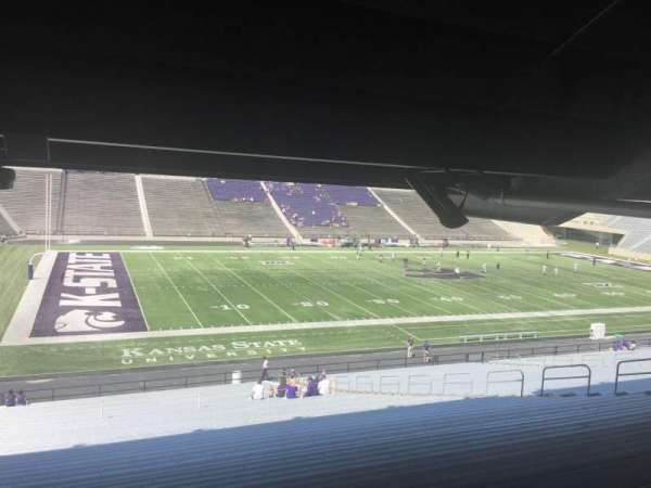 Bill Snyder Family Stadium, section: 21, row: 47, seat: 19