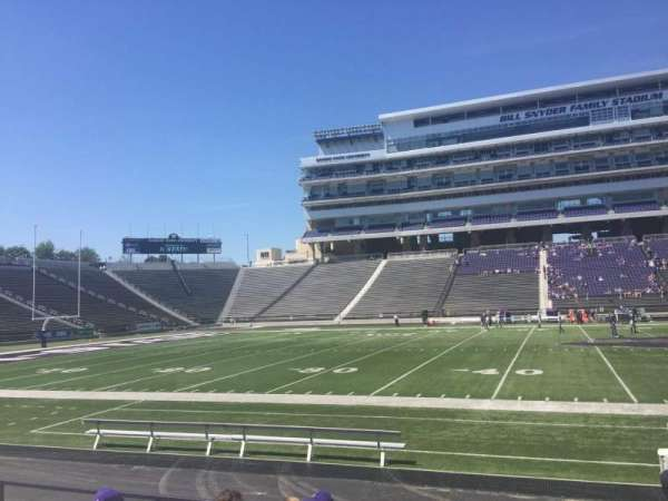 Bill Snyder Family Stadium, section: 24, row: 8