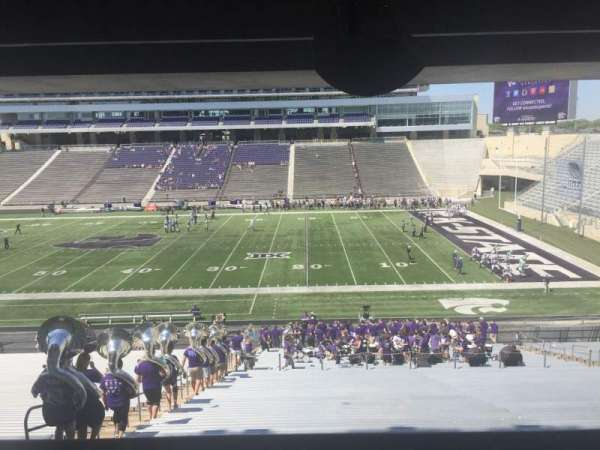 Bill Snyder Family Stadium, section: 26, row: 44, seat: 5