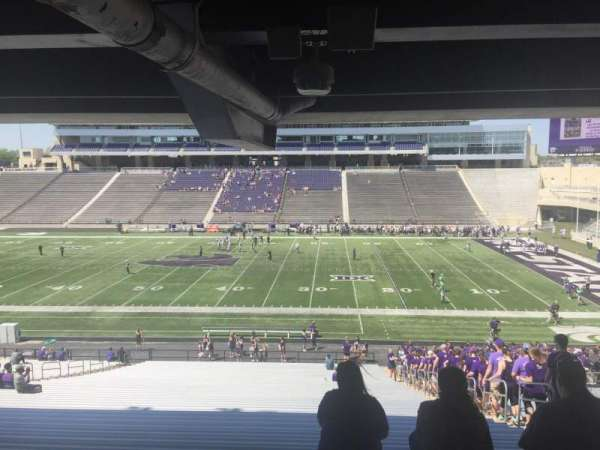 Bill Snyder Family Stadium, section: 25, row: 45, seat: 23