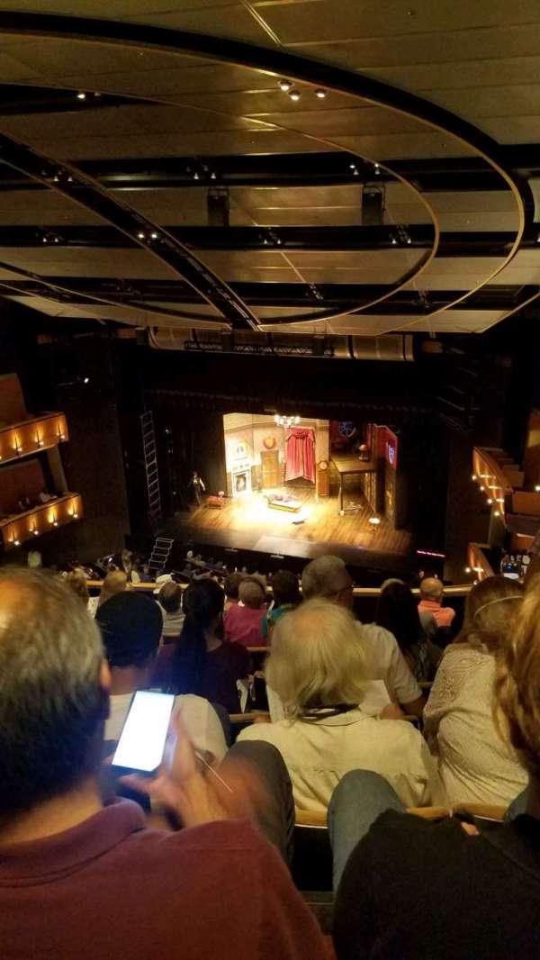 Ahmanson Theatre, section: balcony, row: h, seat: 5