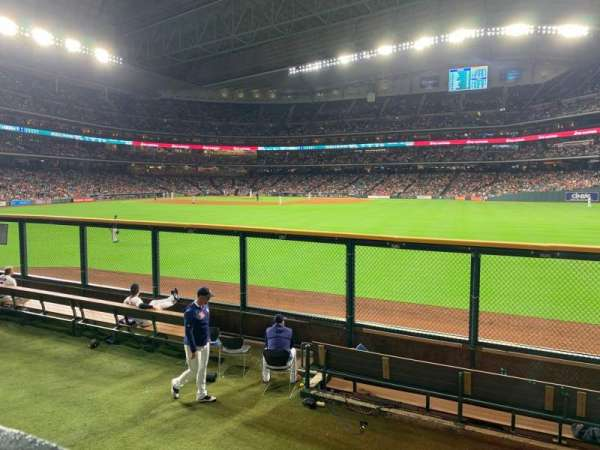 Minute Maid Park, section: 156, row: 1, seat: 13