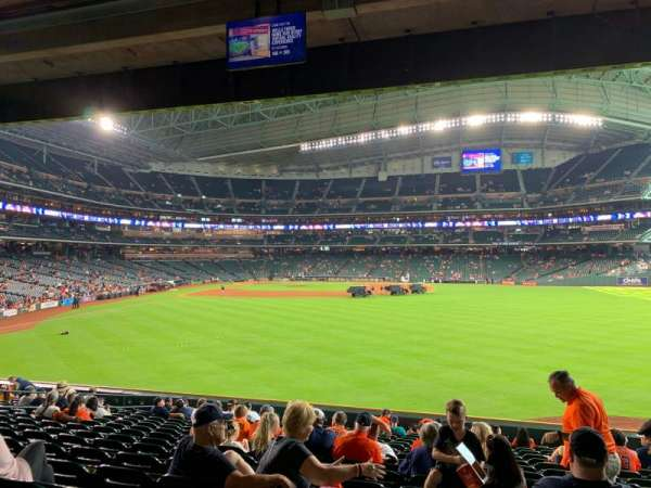 Minute Maid Park, section: 154, row: 17, seat: 20