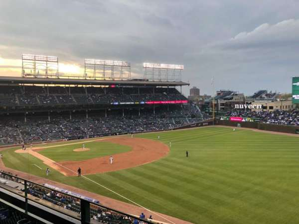 Wrigley Field, section: 330R, row: 2, seat: 15