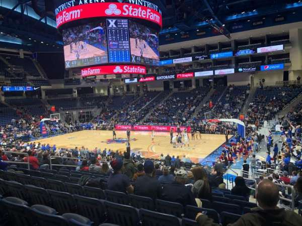 Wintrust Arena, section: 122, row: P, seat: 3