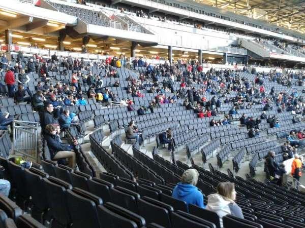 Stadium MK, section: 15, row: S, seat: 447