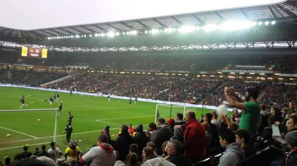 Stadium MK, section: Aisle 15, row: S, seat: 449