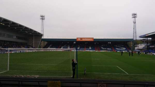 Boundary park, section: Chaddy End, row: D, seat: 75