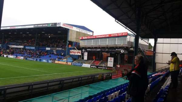Boundary Park, section: Oldham Athletic, row: D, seat: 75