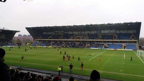 Kassam Stadium, section: North Stand, row: T