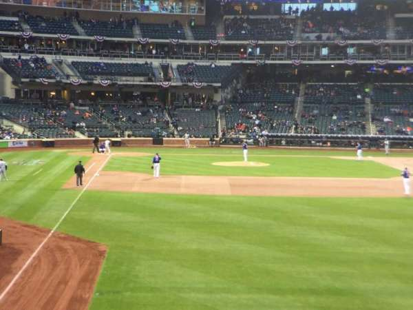 Citi Field, section: 103, row: 11