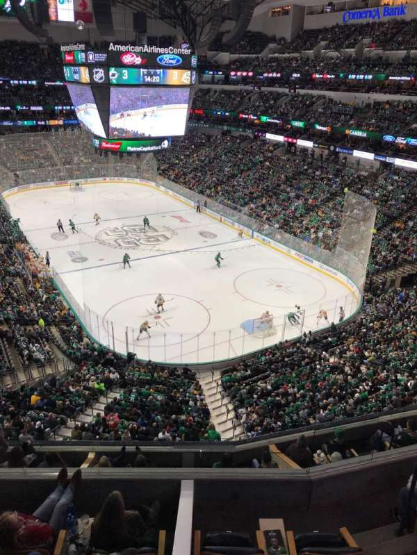 American Airlines Center, section: 320, row: A, seat: 13-14