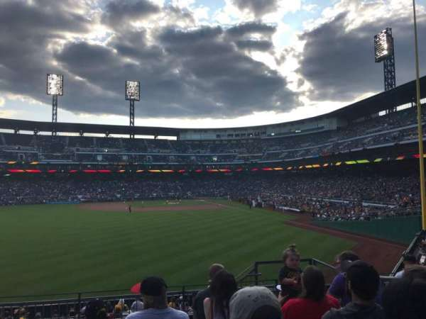 PNC Park, section: 236, row: G, seat: 5