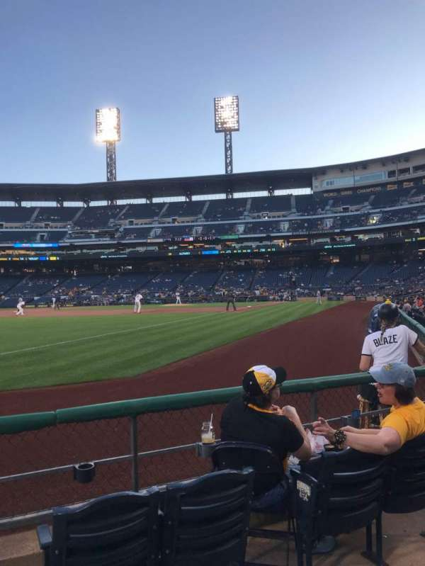 PNC Park, section: 30, row: D, seat: 4